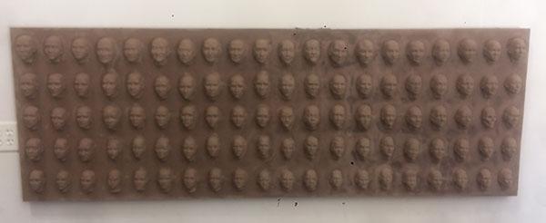 100 Faces II - process 03