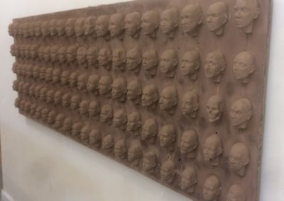 100 Faces II - process 14
