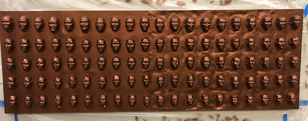 100 Faces II - process 20