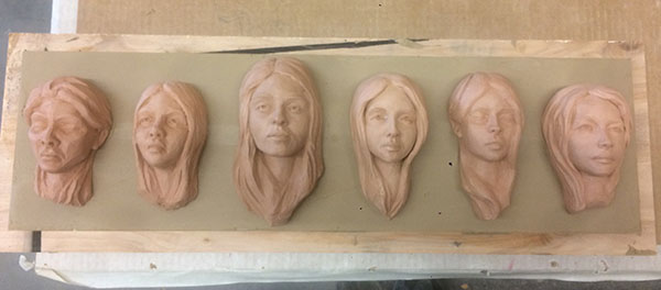 Casting Faces - process 02