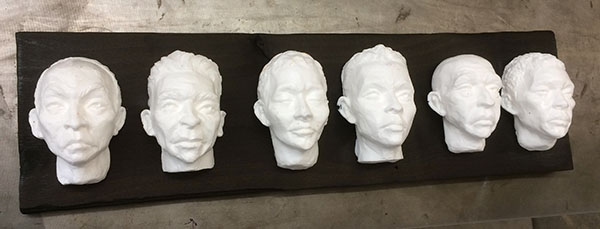 Casting Faces - process 06