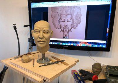 Making of Akio 02
